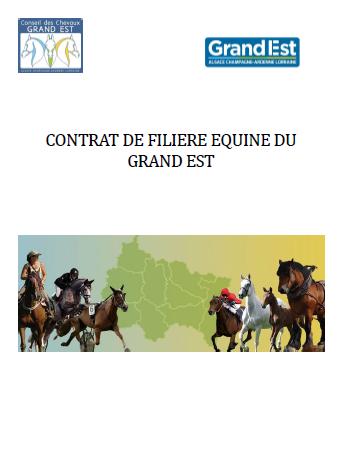 Contrat de Filière Equine Grand Est