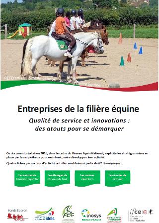 Publications du Réseau Equin