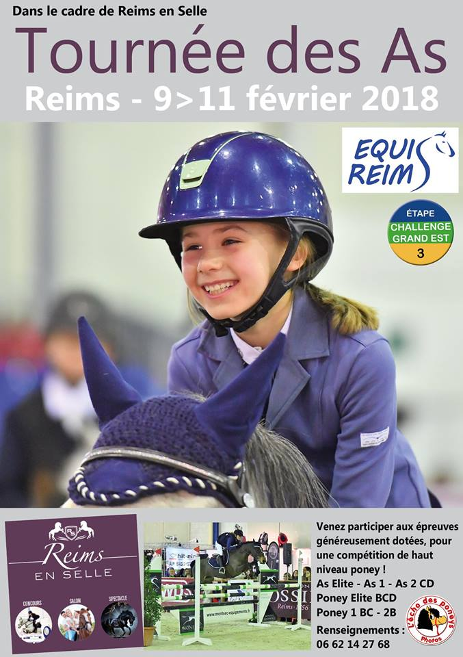 Tournée des As Poneys à Reims